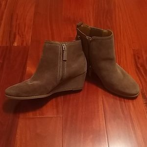 Brand New Franco Sarto Leather Ankle Boots